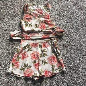 Show Me Your Mumu Wrap Around Skort Set- medium